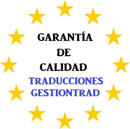 Garantía de calidad Traducciones GestionTrad